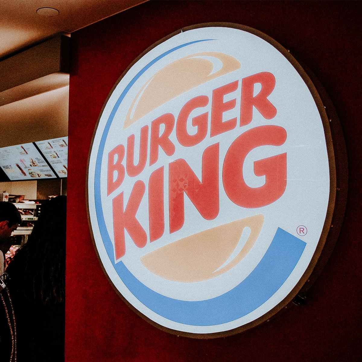 Burger King logo sign in the Union