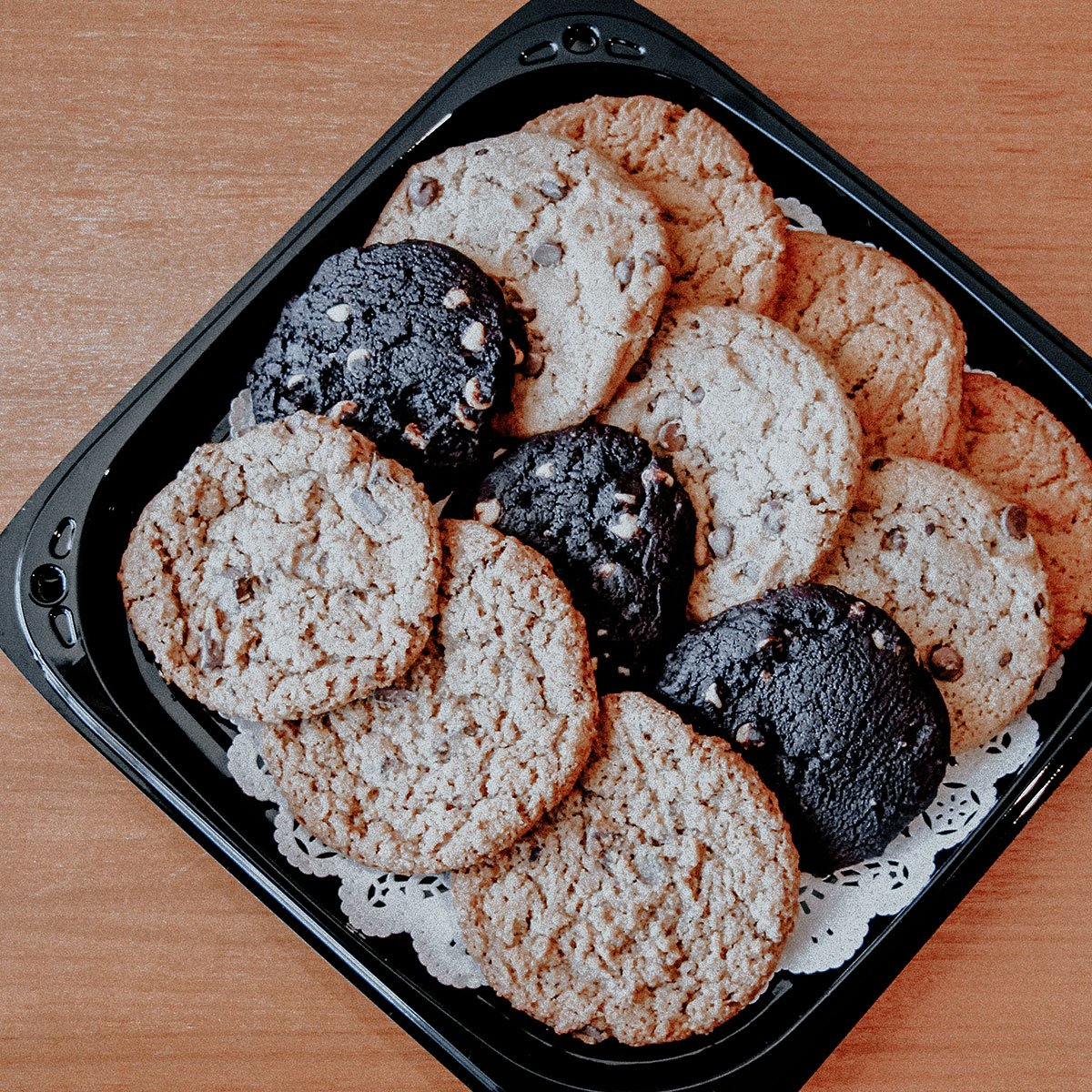 Food to Go cookie tray