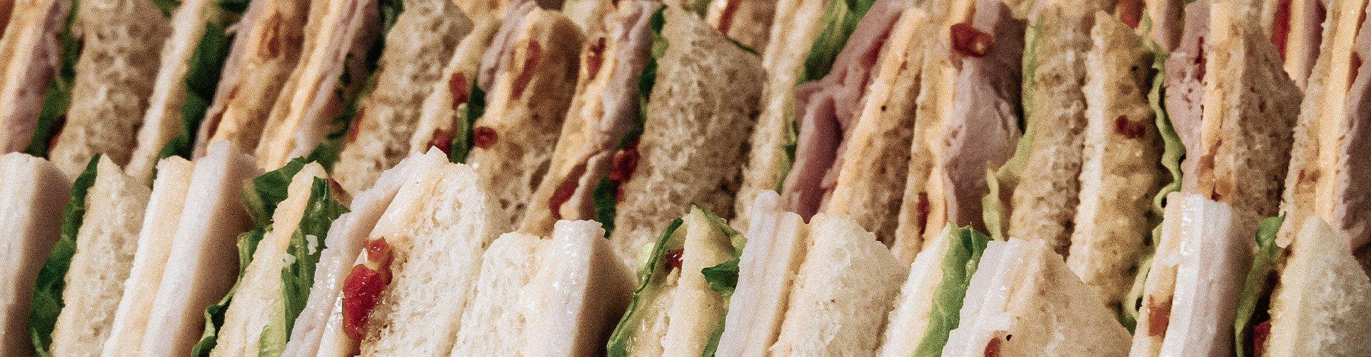 in-house prepared sandwiches