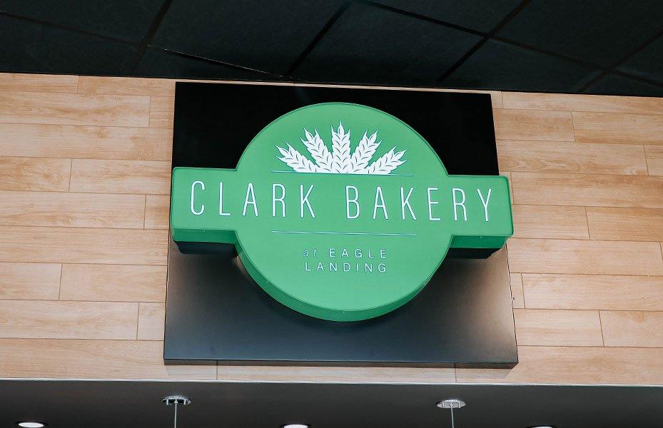 Clark Bakery logo in Eagle Landing